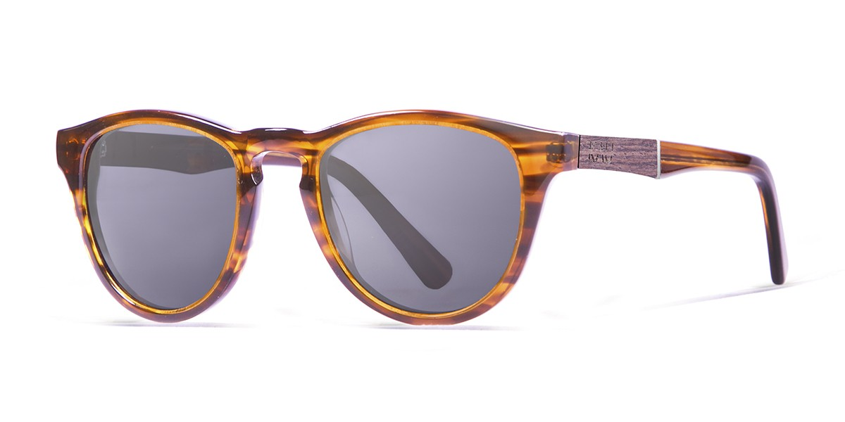 Florencia demy brown polarized sunglasses side