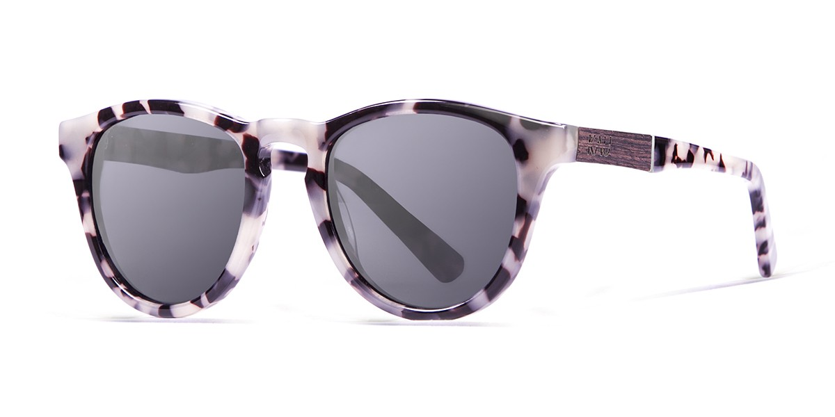 Florencia tortoise polarized sunglasses side