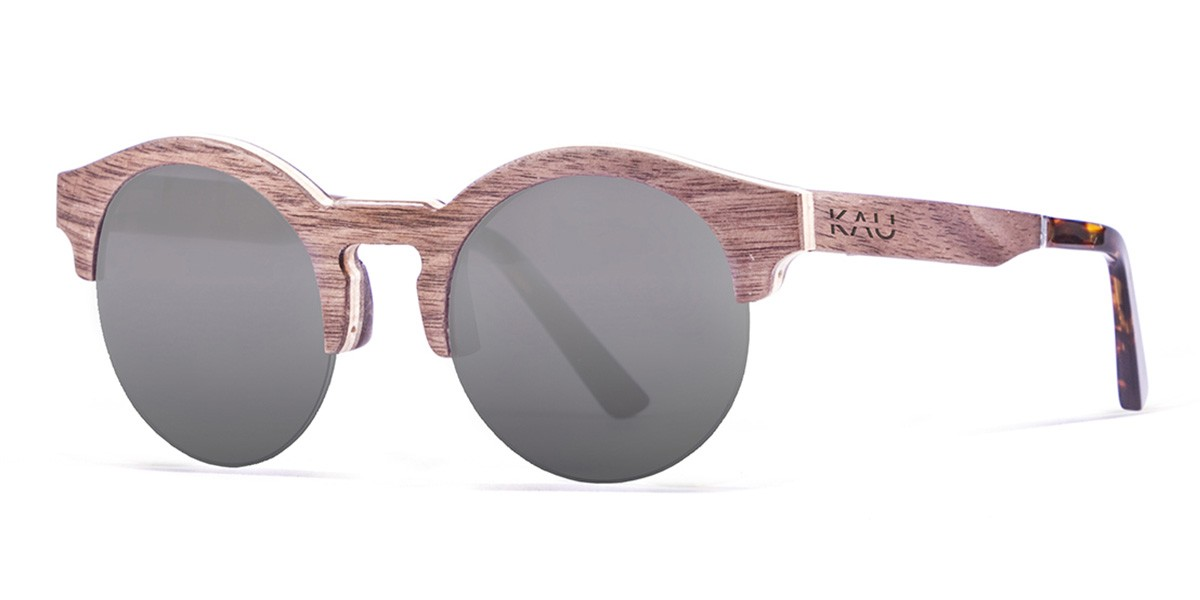 HONKONG LINE RED wooden polarized sunglasses