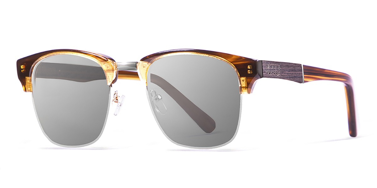 shangay demy brown smoked lens