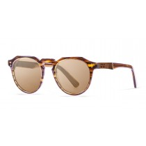 PAris demy brown polarized sunglasses side