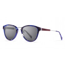 VENECIA blue tortoise polarized sunglasses front
