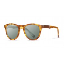 Florencia brown tortoise oliver lens polarized sunglasses front