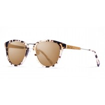 Venecia tortoise frame polarized sunglasses side